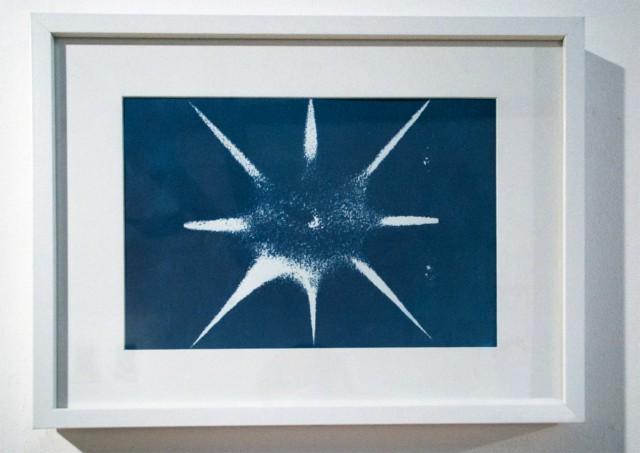 Blue waves 1 Cyanotype, 42 x 32 cm ©Cécile Le Talec
