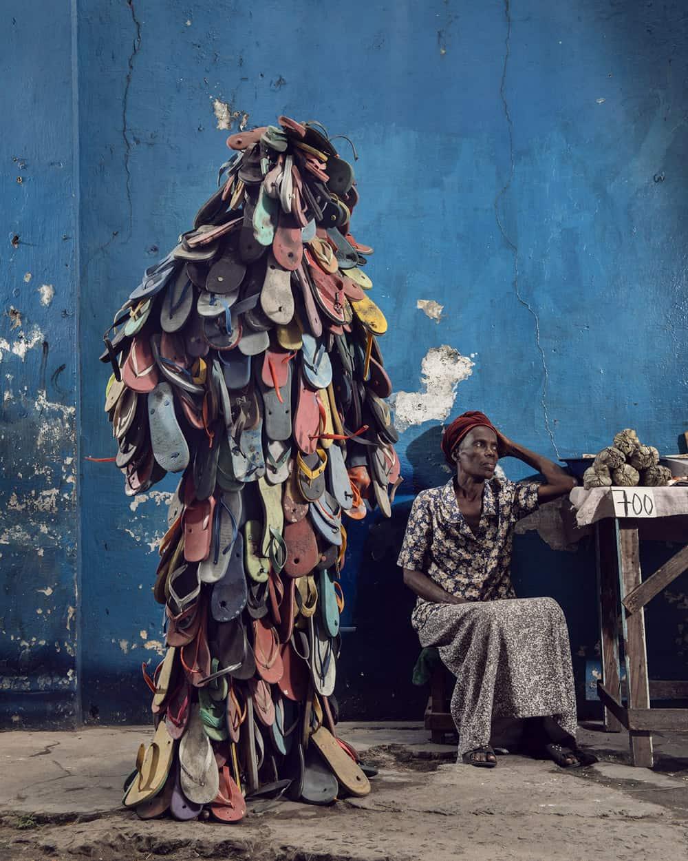 Untitled #21, 2020 Homo Detritus, Real Portraitik #5 Kinshasa, RDC ©Stephan Gladieu