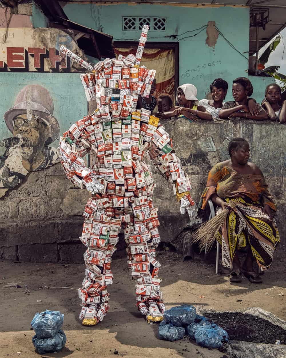 Untitled #10, 2020 Homo Detritus, Real Portraitik #5 Kinshasa, RDC ©Stephan Gladieu