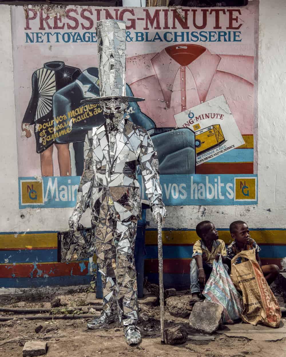 Untitled #11, 2020 Homo Detritus, Real Portraitik #5 Kinshasa, RDC ©Stephan Gladieu