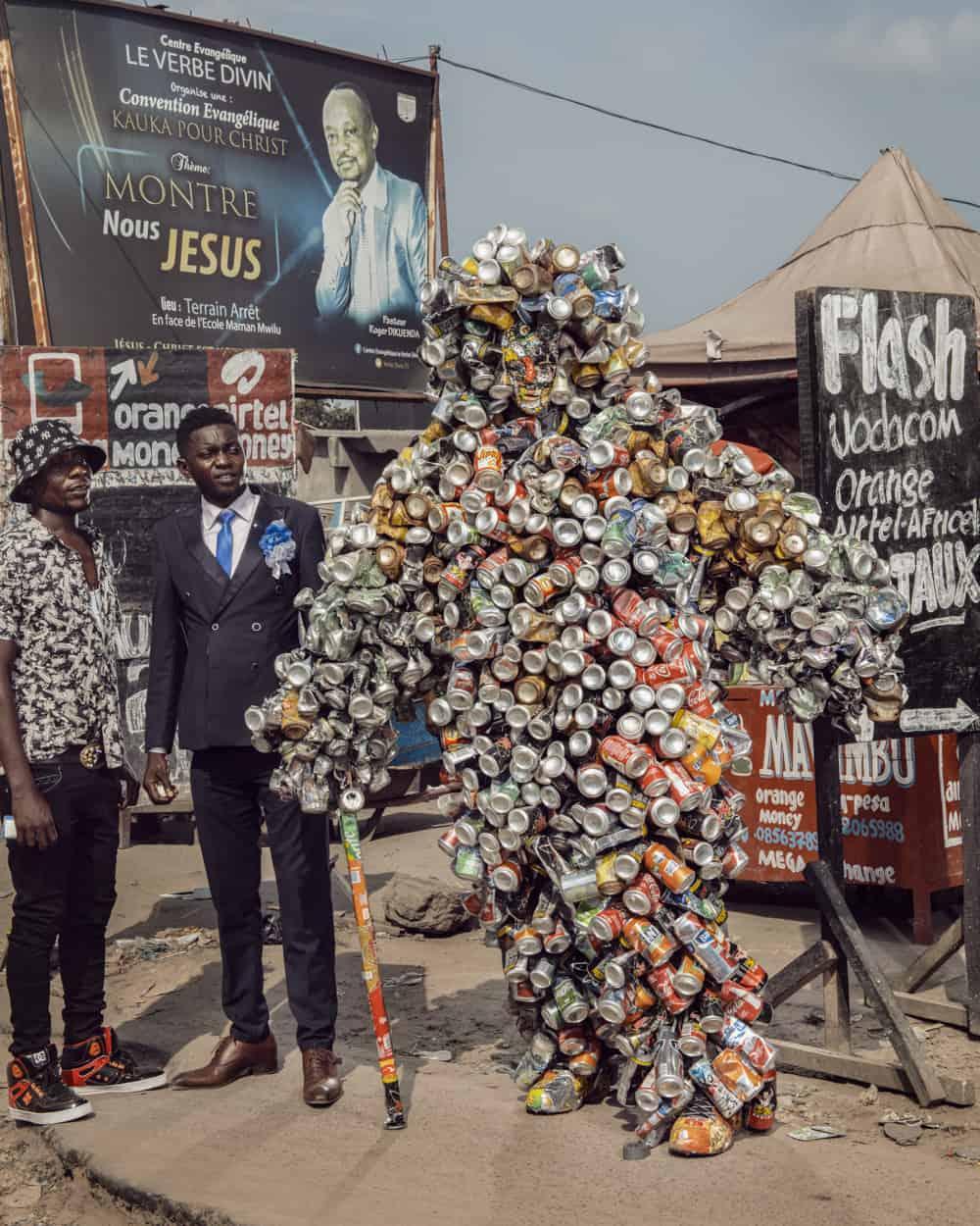 Untitled #14, 2020 Homo Detritus, Real Portraitik #5 Kinshasa, RDC ©Stephan Gladieu