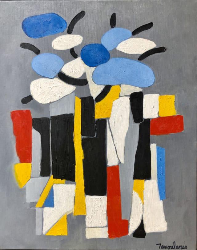 Untitled #18, 2004 Huile et acrylique sur toile 33 x 41 cm ©Dean Tavoularis