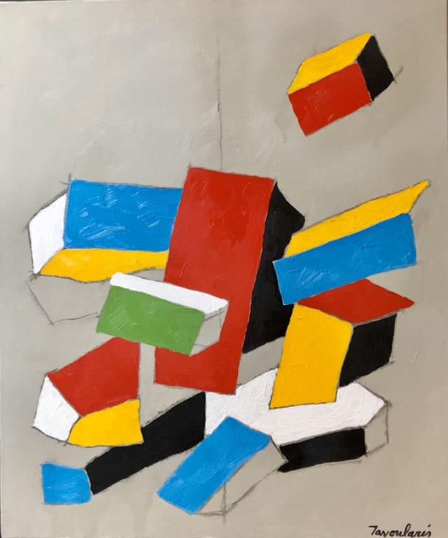 Untitled #23, 2005 Huile sur toile 46 x 55 cm ©Dean Tavoularis