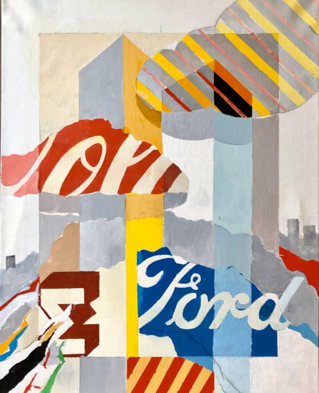 Tuesday morning, 2020 peinture, acrylique sur toile 51 x 40 cm DT20-002 ©Dean Tavoularis