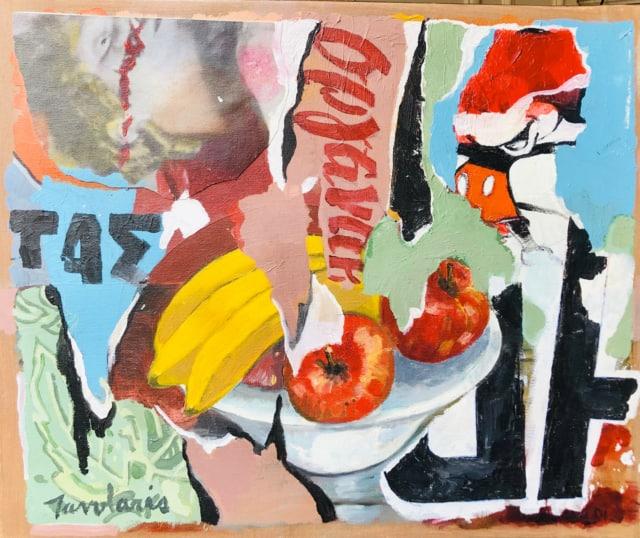 Fruit Bowl, 2007 Acrylique sur toile ©Dean Tavoularis