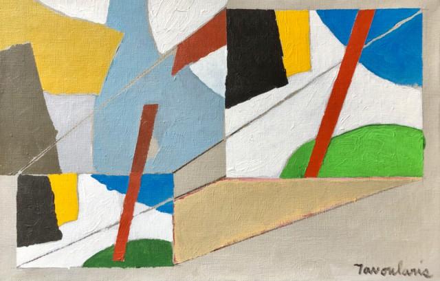 Untitled #68, 2005 Acrylique et huile sur toile, 41 x 27 cm ©Dean Tavoularis