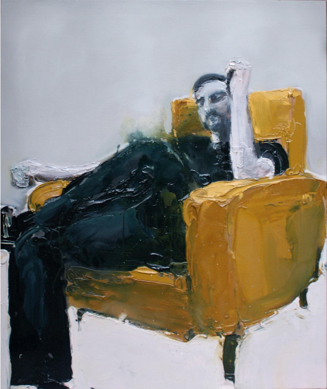 Steph, 2009 Acrylique sur toile, 81 x 100 cm ©Vincent Ruffin