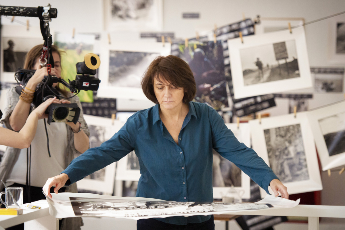 Histoire d'un regard un film de Mariana Otero