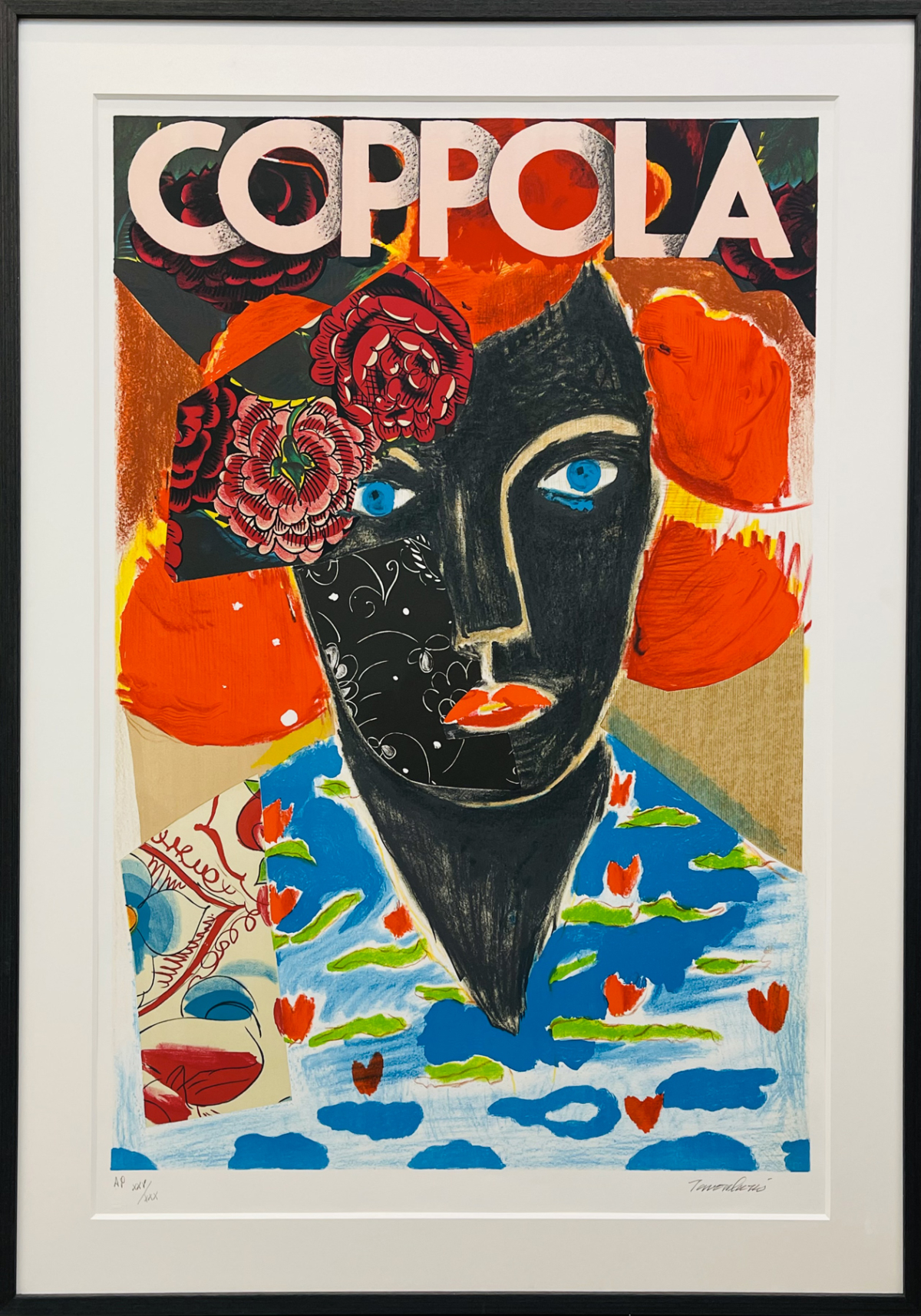 Coppola,2009 Sérigraphie sur papier, 115 x 75 cm DT09-071 ©Dean Tavoularis