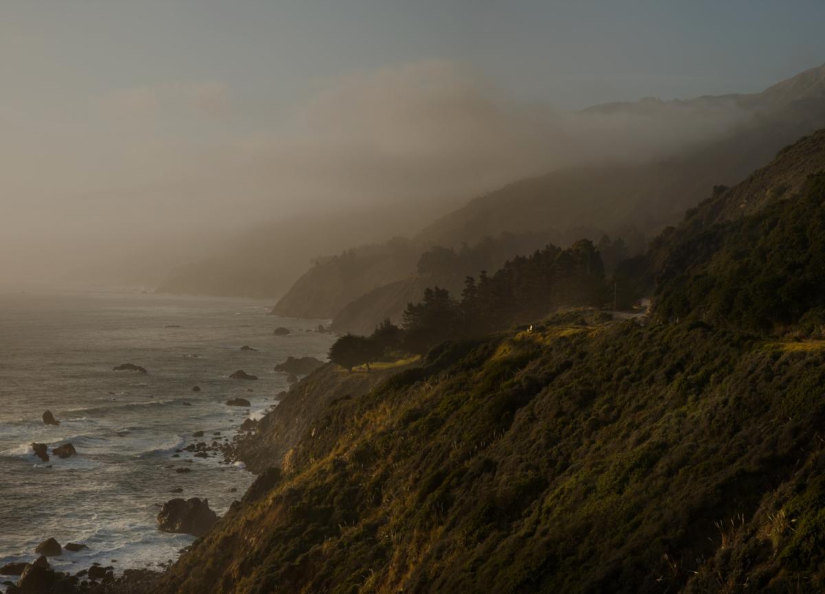 Big Sur 2, 2013 série Spotting LA ©Nicolas Dhervillers