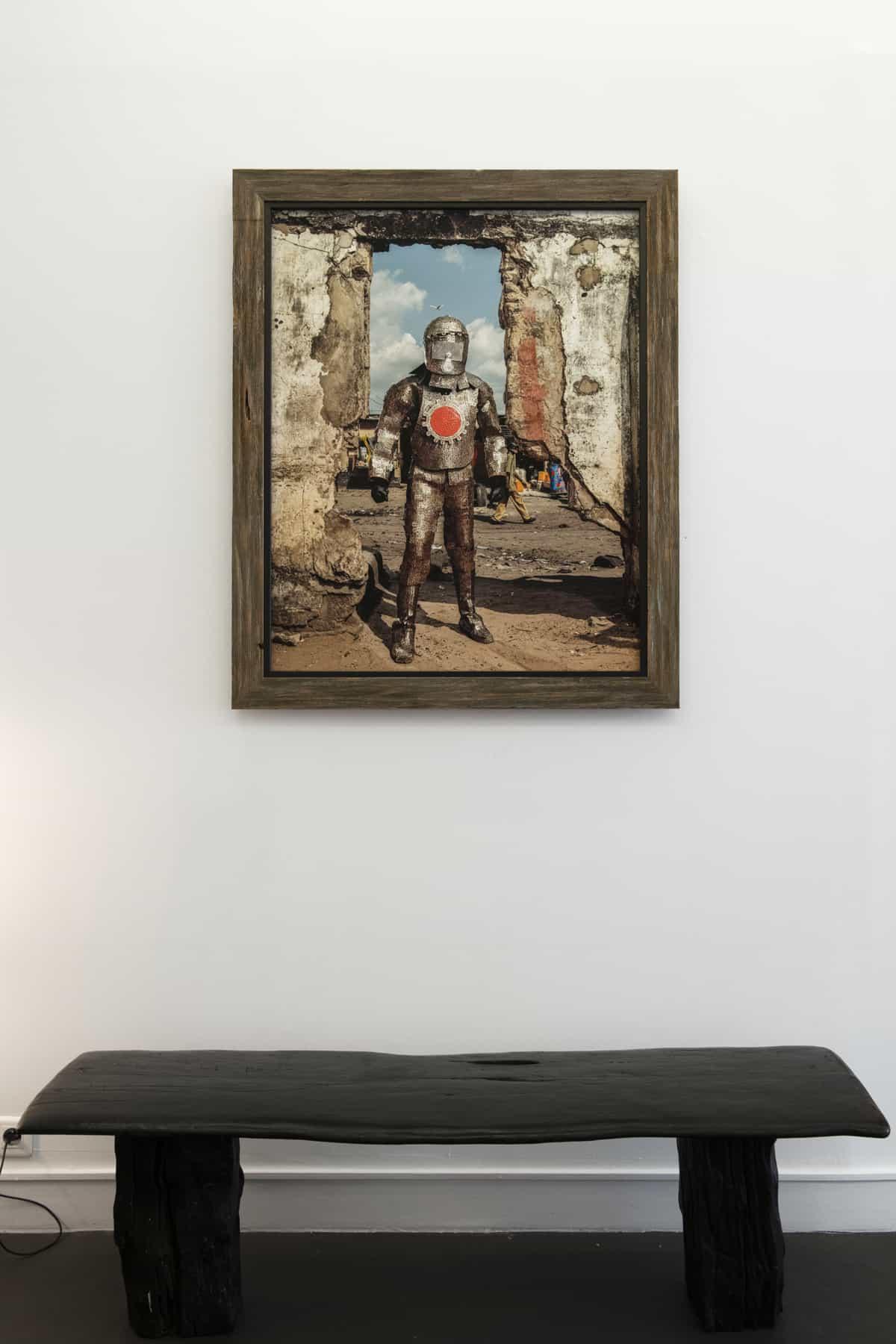 Homo Detritus - Exposition du 25 mai > 10 juillet - Galerie Olivier Castaing ©Stephan Gladieu