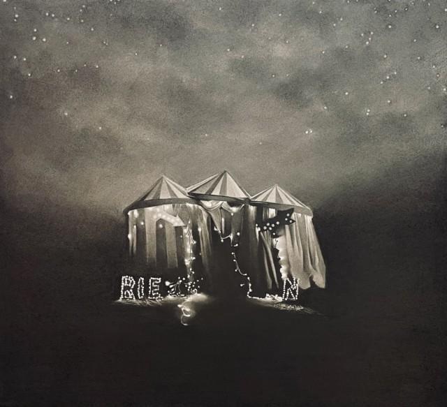 Quelle rie n, 2019, Dessin à la pierre noire sur papier, 55 x 60 cm, RT978 ©Raphaël Tachdjian