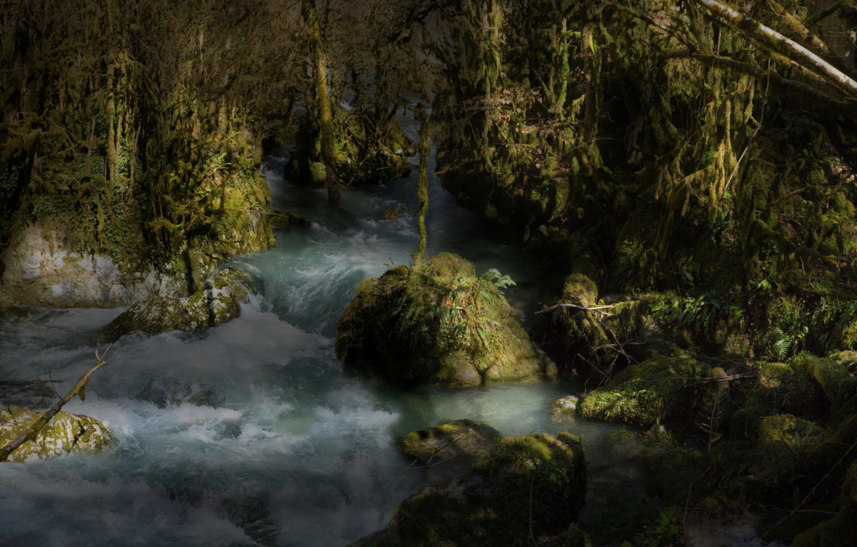 River 9 100 x 140 cm ©Nicolas Dhervillers