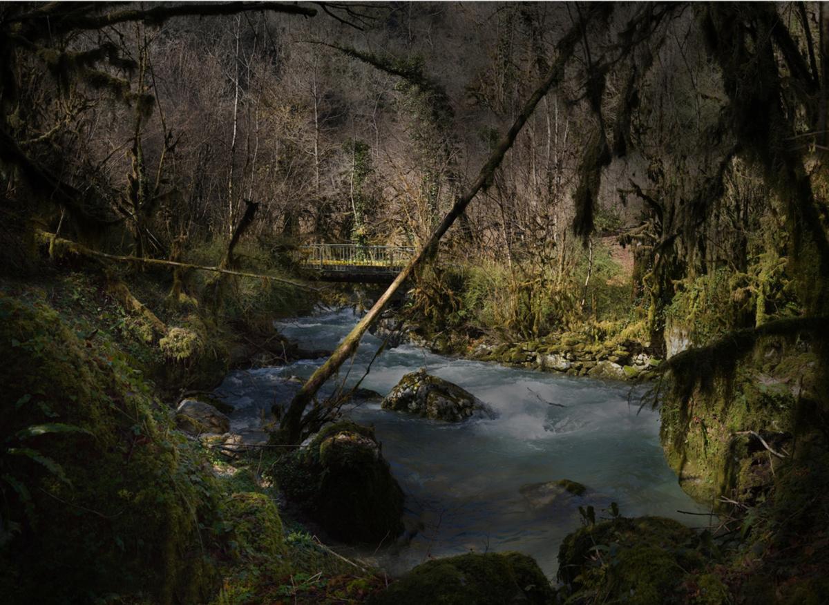 River 3 100 x 140 cm ©Nicolas Dhervillers