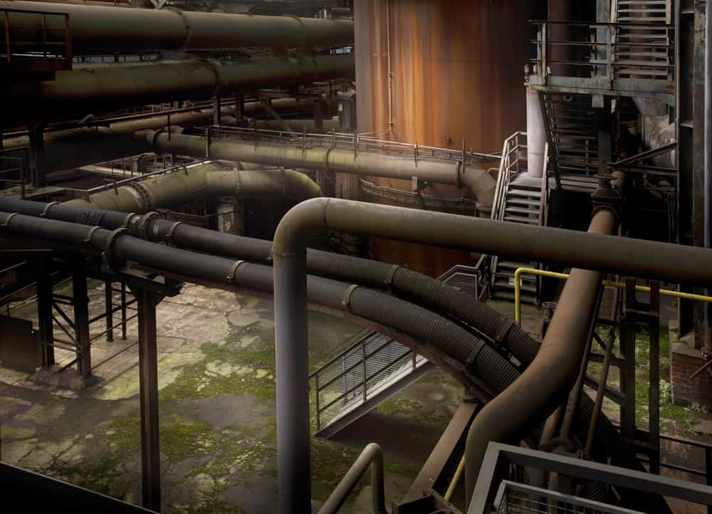 Pipes 1, 2012 ©Nicolas Dhervillers