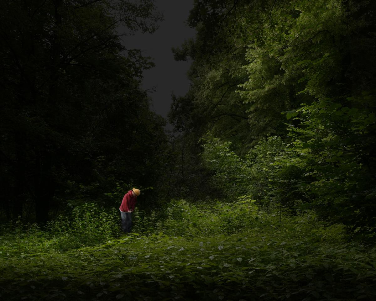 Anonyme 7 série Tourists, 2008 ©Nicolas Dhervillers