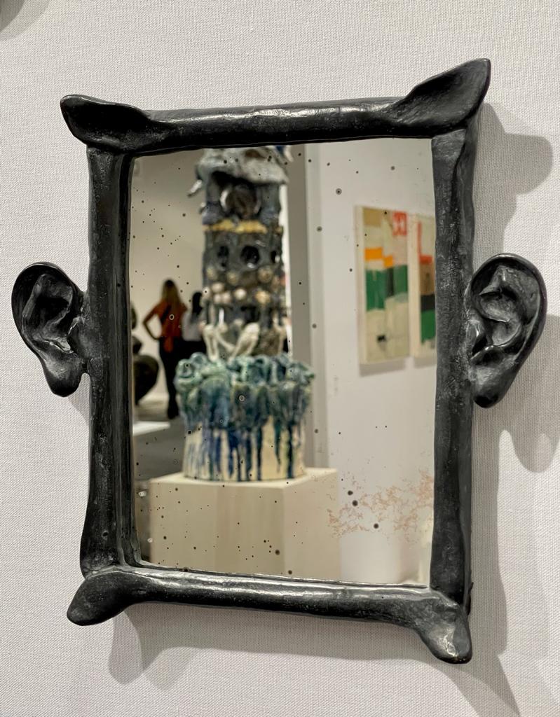 Miroir oreille, 2020 Bronze ©Denis Polge Art Paris Art Fair 2021, Grand Palais Éphémère, Paris 9 > 12 septembre 2021